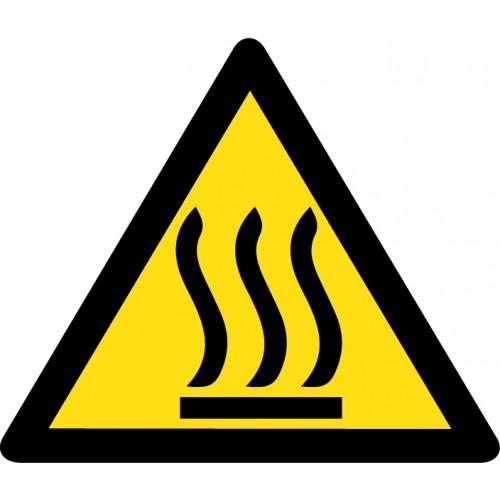 Pozor - vroči deli