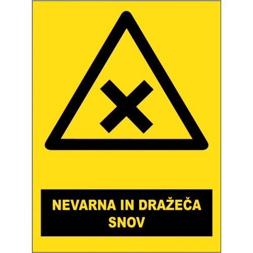 Nevarna in dražeča snov