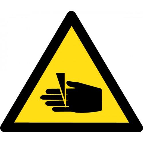 Pozor - nevarnost ureznin
