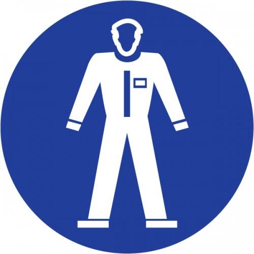 Obvezna uporaba varnostne obleke