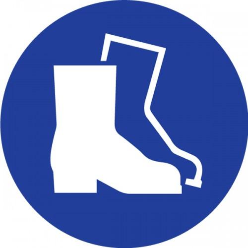 Obvezna uporaba zaščitnih obuval