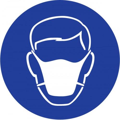 Obvezna uporaba zaščitne maske