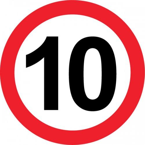 Omejitev hitrosti 10km/h