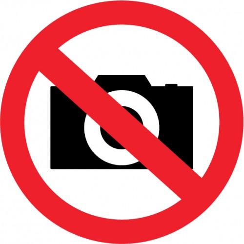 Prepovedano fotografiranje