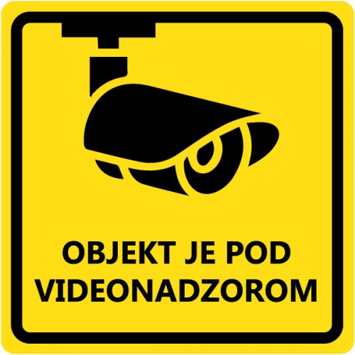 Objekt je pod videonadzorom