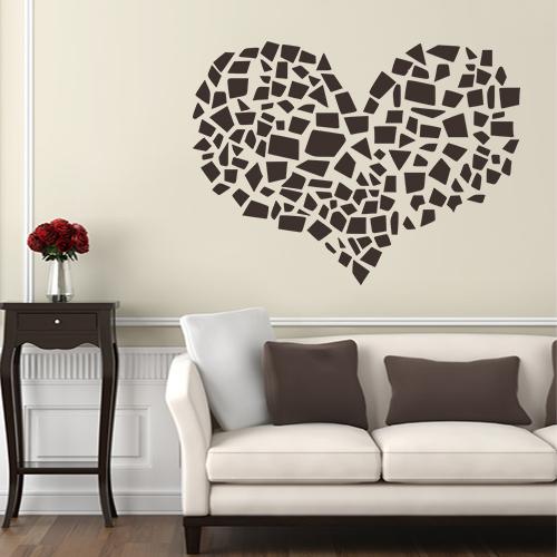 Srce mozaik